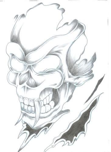 Skull Tattoo Lev