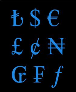 Klavyede Para İşaretleri