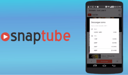 Snaptube Download and Install on PC, APK Android Free