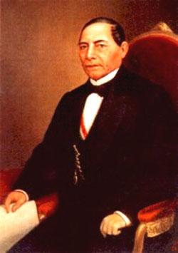 Presidente Don Benito Juárez García