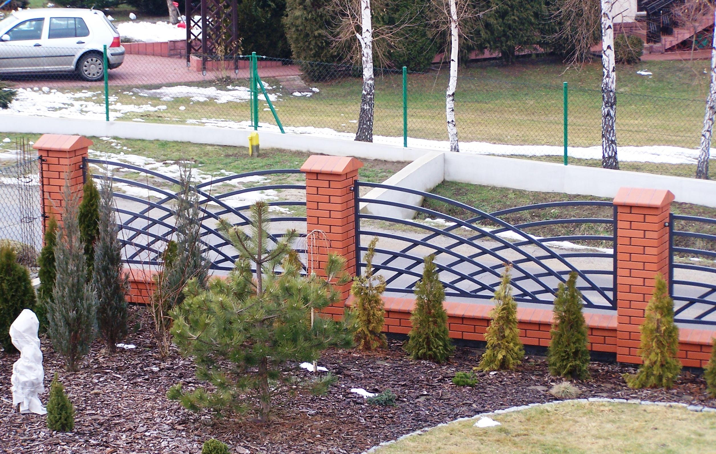 nowoczesn wzory  ogrodzenia