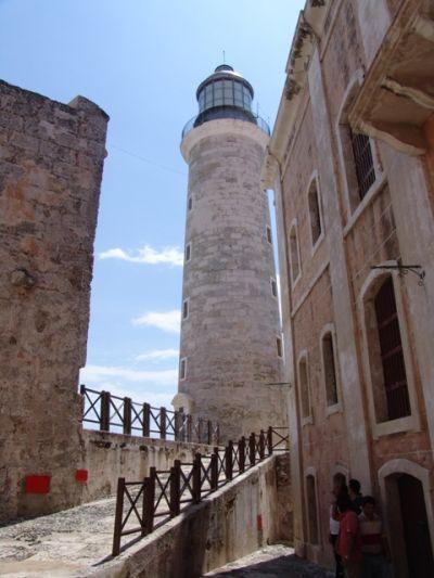 Galeria en el Castillo del Morro
