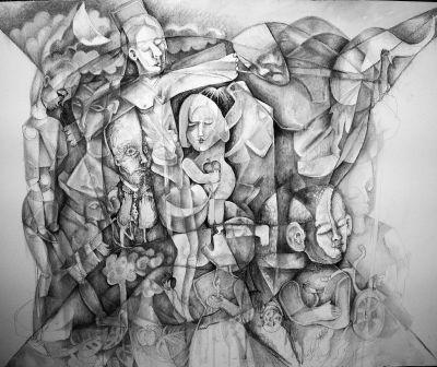 FELIPE ALARCON-La crucifixión del cubismo (I).
