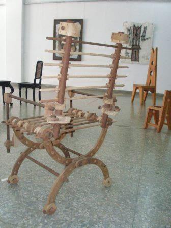 Artistas de Somos lo que hay en galería de Ciego de Ávila