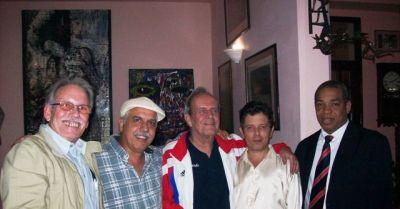 Ricardo Alarcon en la Galeria Somos lo que hay