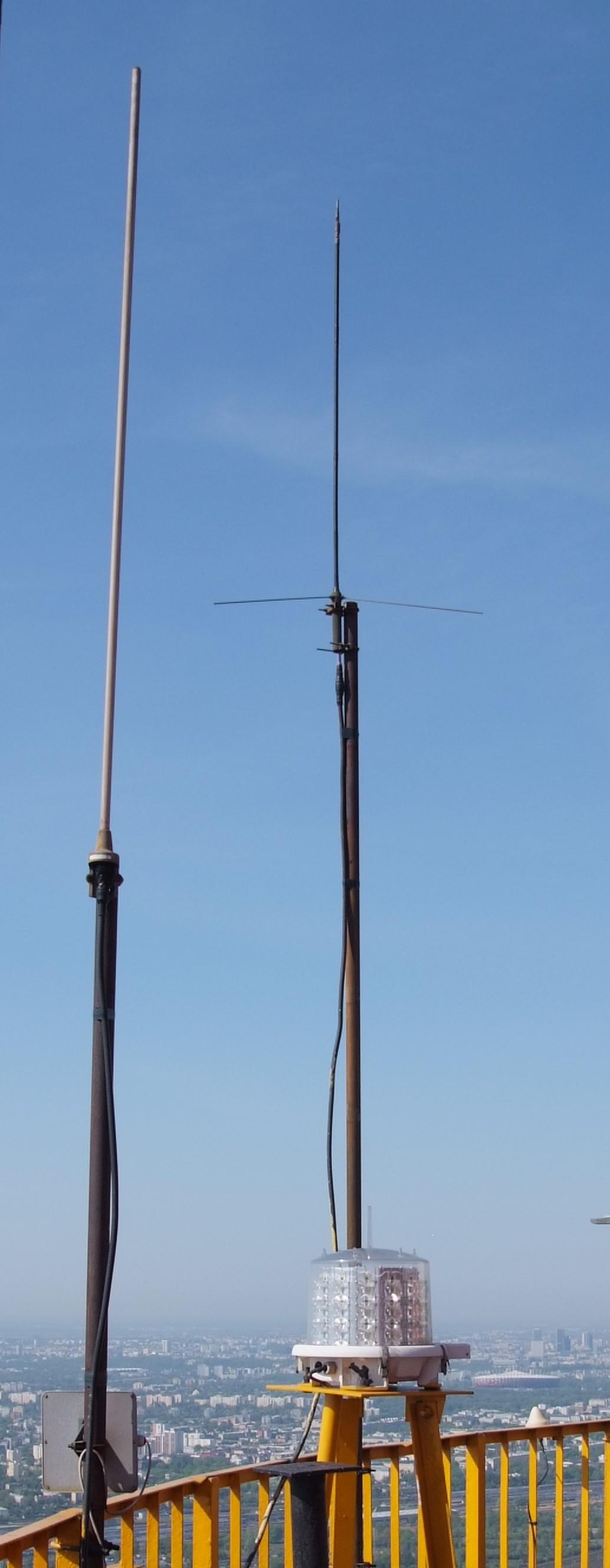 Uszkodzona antena 2m SR5W
