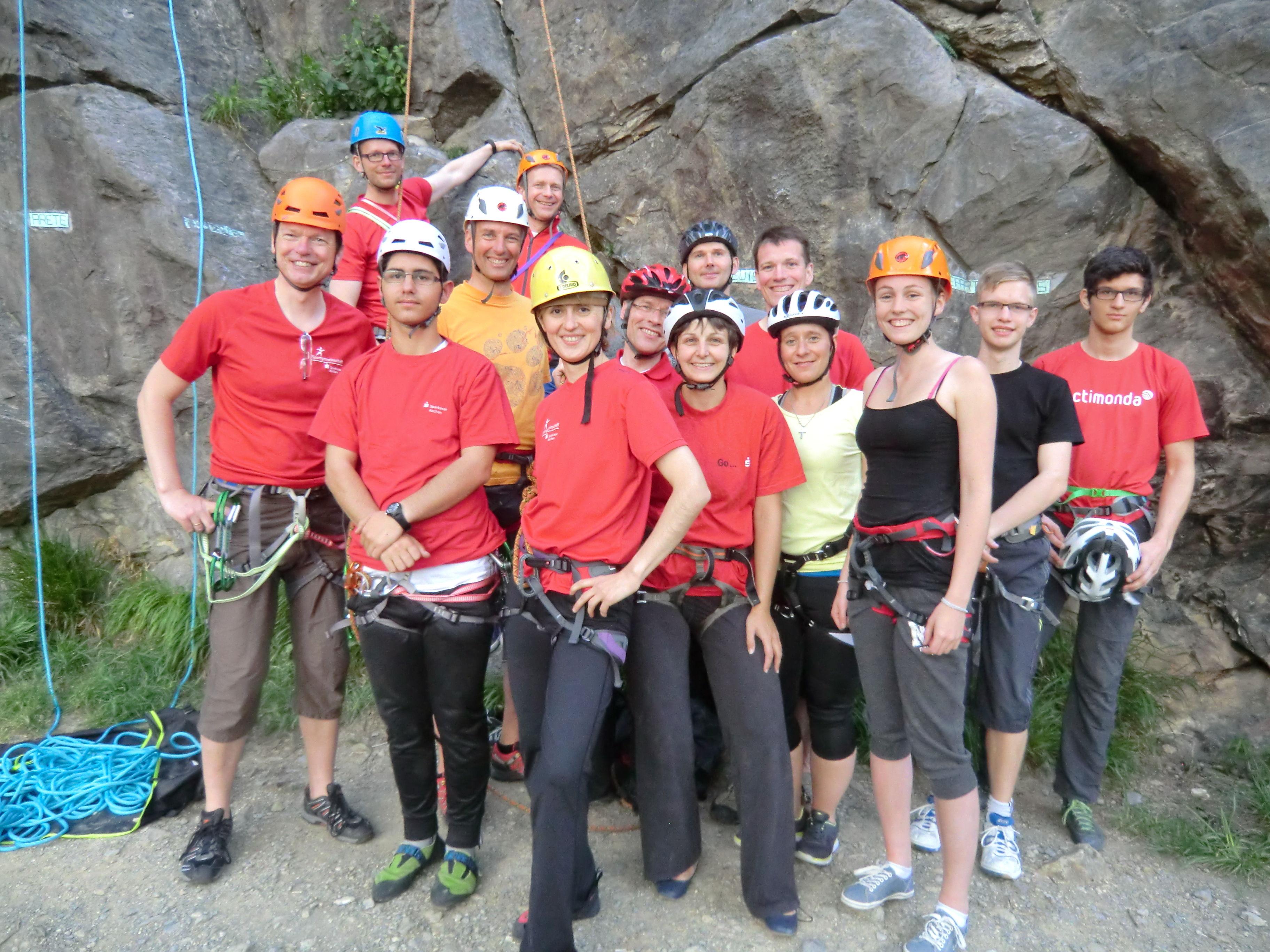 Kletterausrüstung Aachen : Sportgemeinschaft sparkasse aachen sportklettern