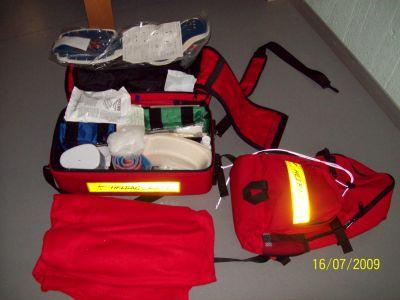 Schulsanitätsdienst ausrüstung  Schulsanitätsdienst am Otto-Hahn-Gymnasium Nagold - Unsere Ausrüstung