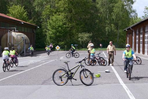 Fahrradverkehrsschule 2012 (Foto: Ewald Köstler)
