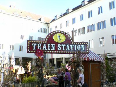 Trainstation Villach