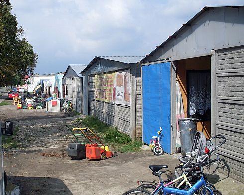 namioty i blaszaki w Czacz