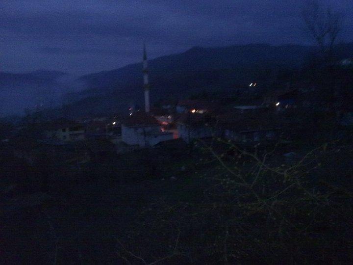 subaşı köyü,akçakoca,düzce,gece