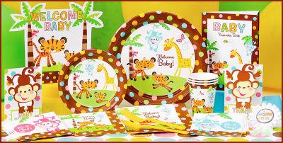 Baby Shower Safari Nino Decoracion.Superdecoraciones