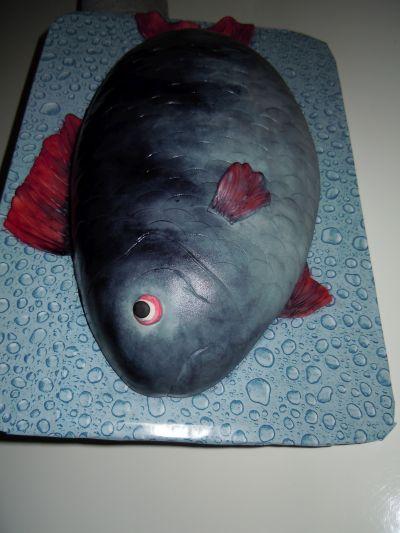Torte in fischform