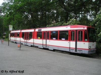 Wagen 372 am Tiergarten