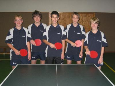 2. TT-Jugendmannschaft