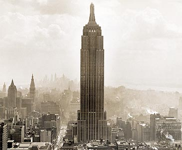 how to draw the empire state building