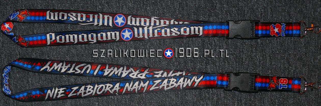 Smycz Pomagam Ultrasom Wisła Kraków