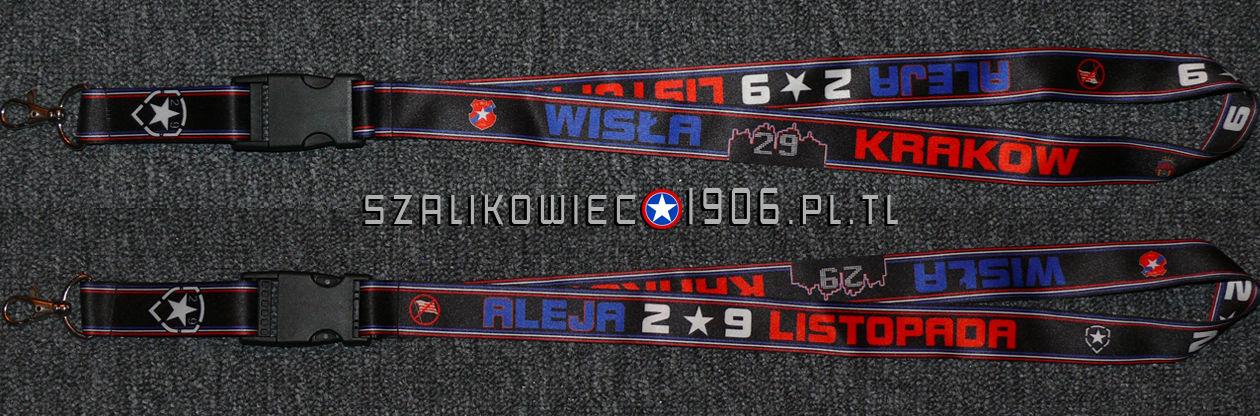Smycz Aleja 29 Listopada Wisła Kraków