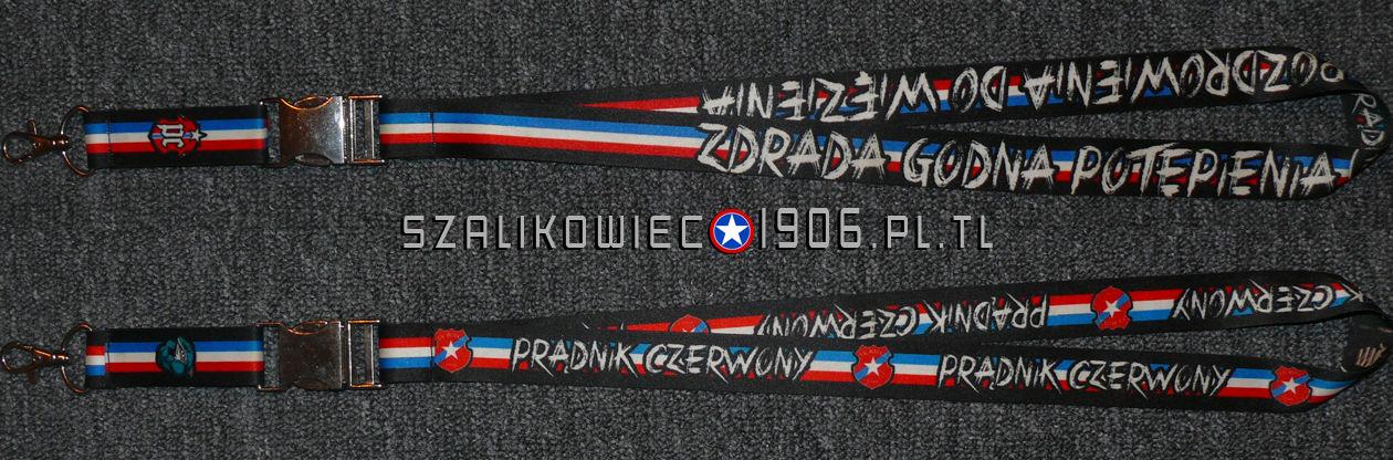 Smycz Prądnik Czerwony Wisła Kraków