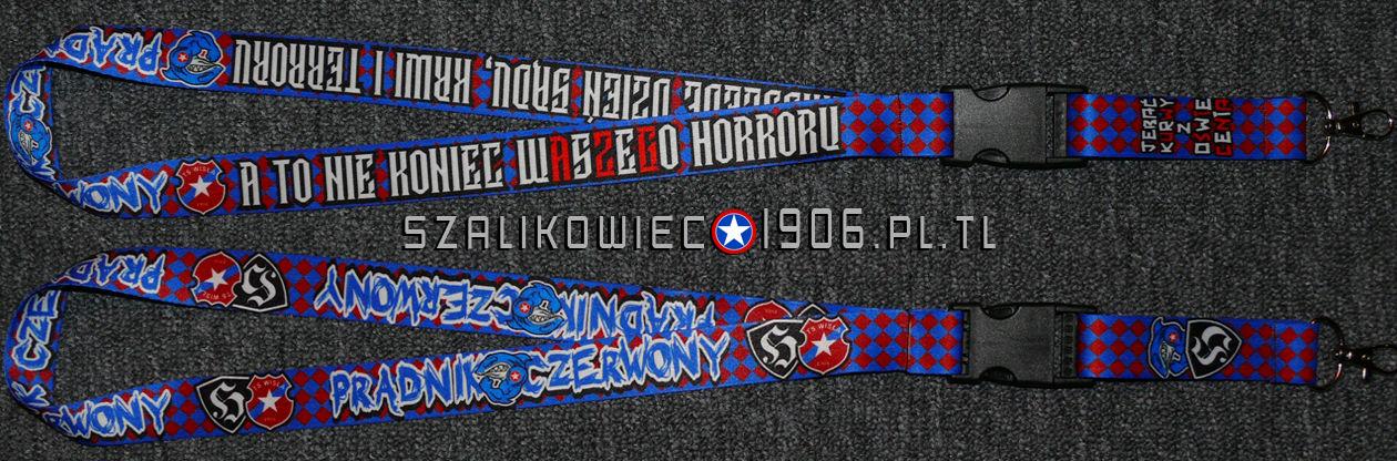 Smycz Pradnik Czerwony Wisla Krakow