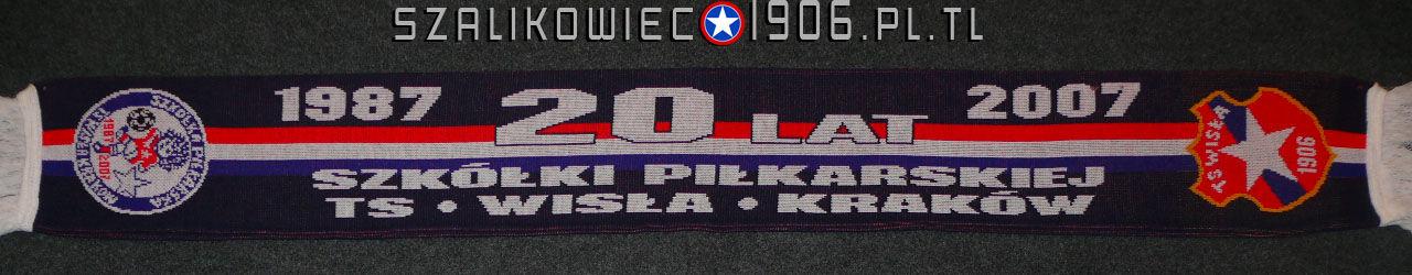 Szalik 20 Lat Szkółki Piłkarskiej Wisła Kraków