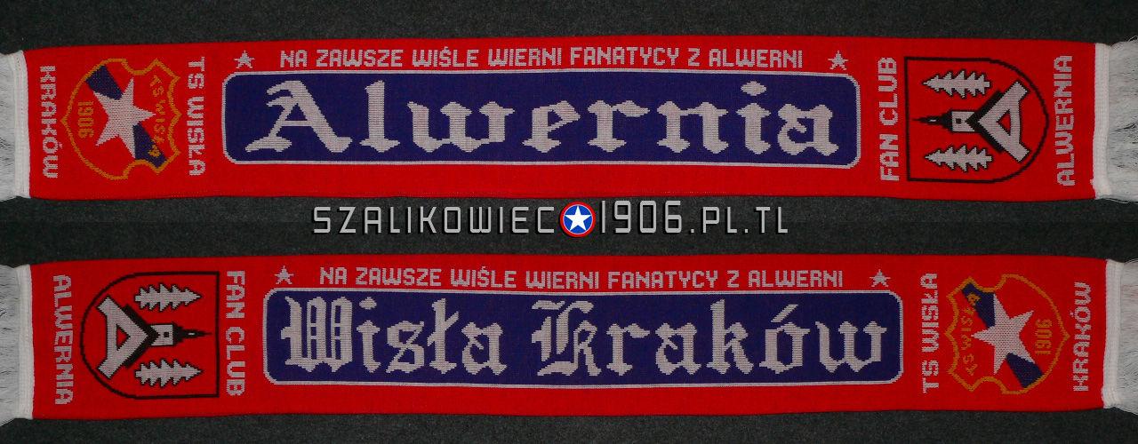 Szalik Wisła Kraków Alwernia wzór 1