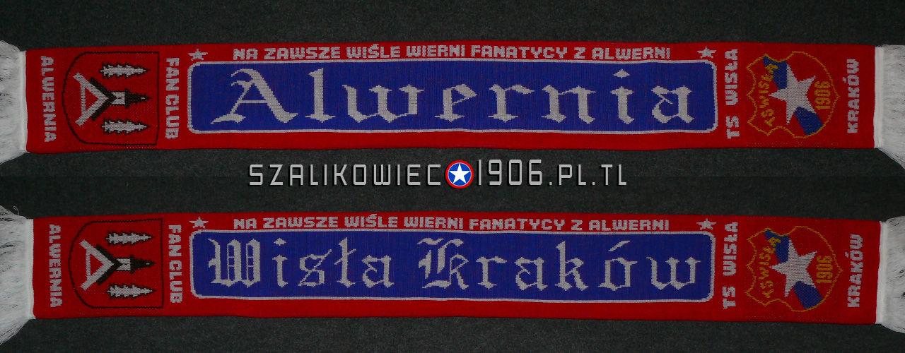 Szalik Wisła Kraków Alwernia wzór 2