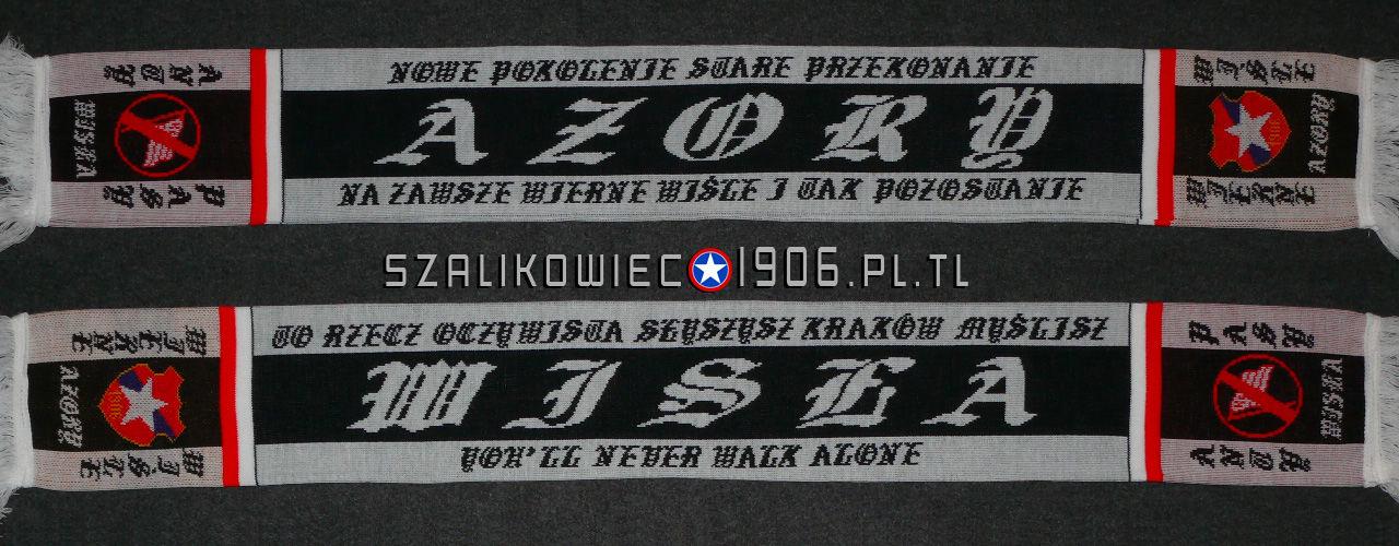 Szalik Wisła Kraków Azory Wzór 2