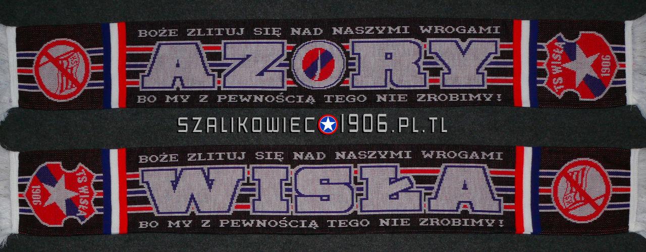 Szalik Wisła Kraków Azory Wzór 3