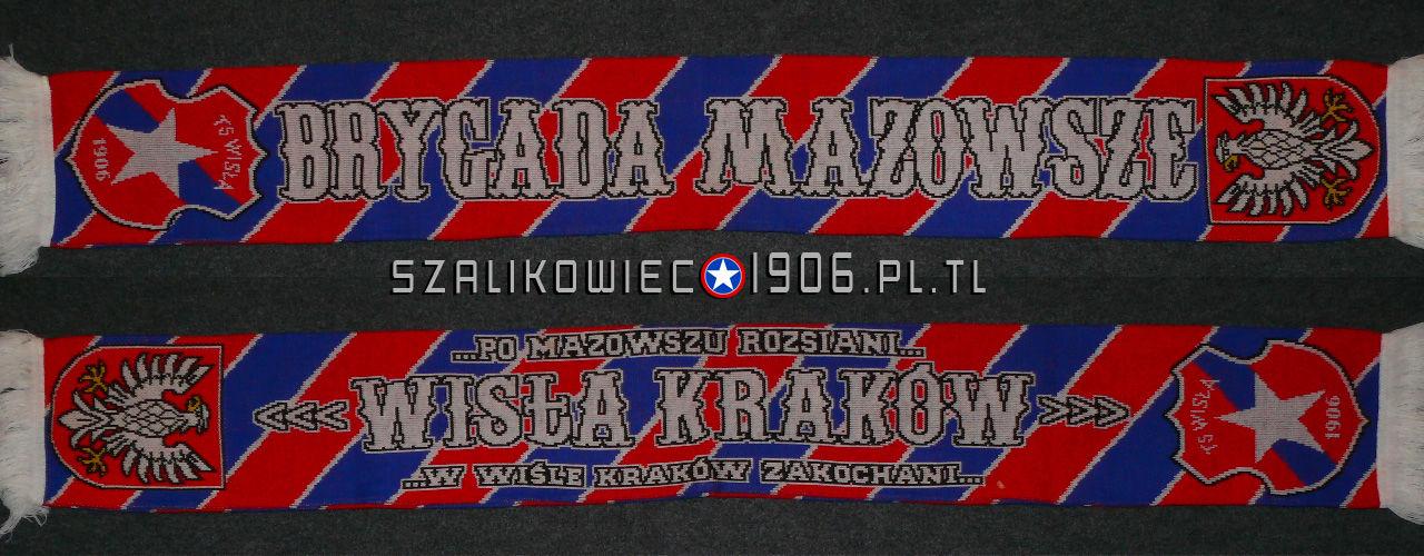 Szalik Wisła Kraków Brygada Mazowsze