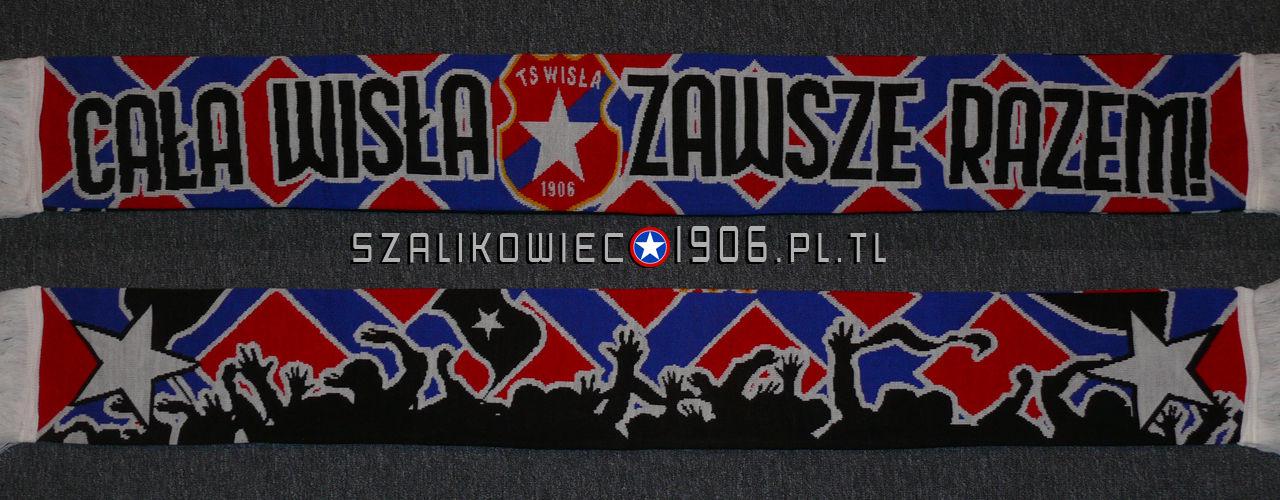 Szalik Cała Wisła Zawsze Razem Wisła Kraków