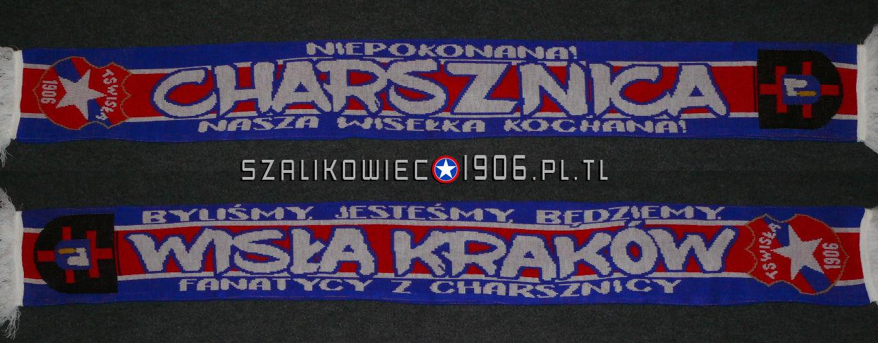 Szalik Wisła Kraków Charsznica Wzór 2