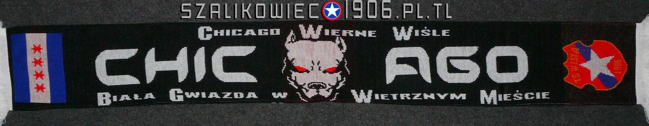 Szalik Wisła Kraków Chicago Wzór 1