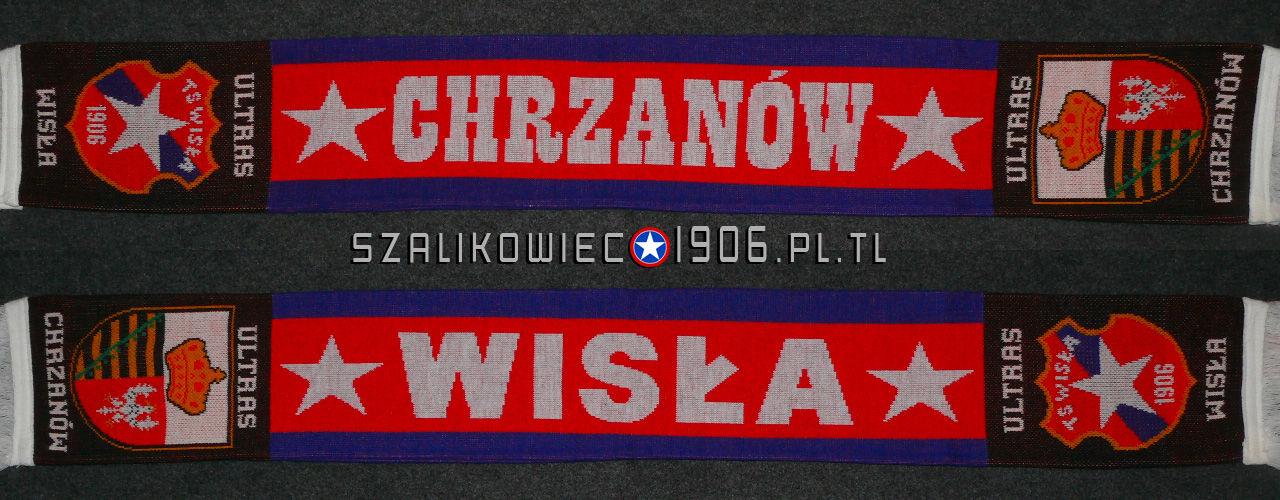 Szalik Wisła Kraków Chicago Wzór 2