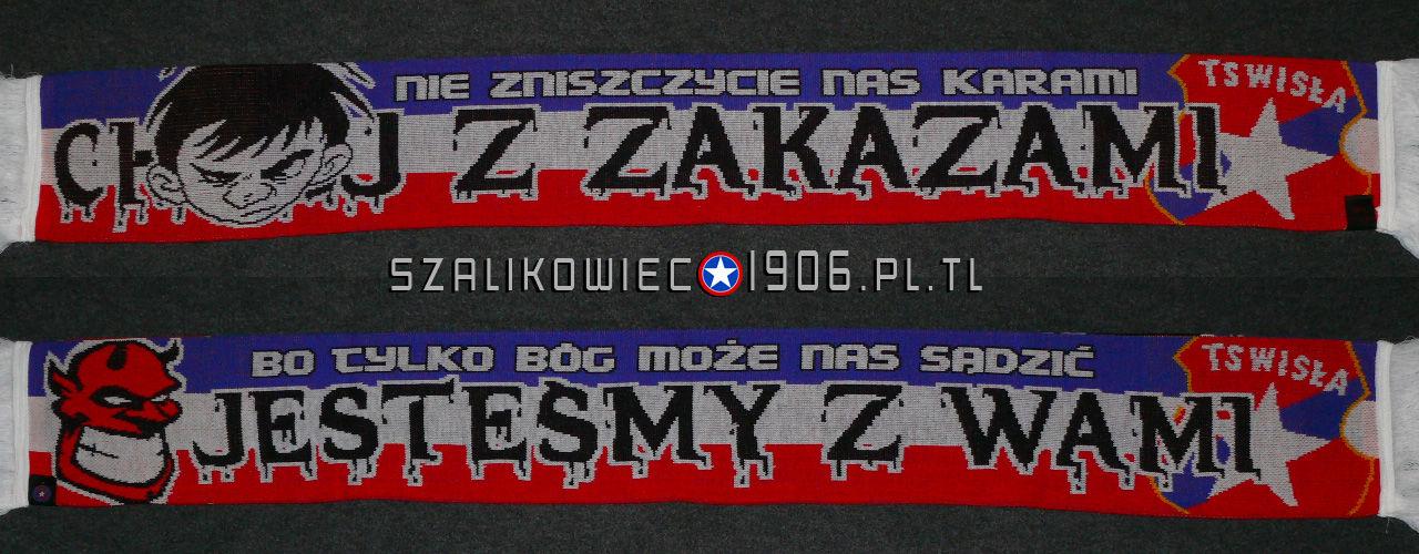 Szalik Chuj Z Zakazami Wisła Kraków