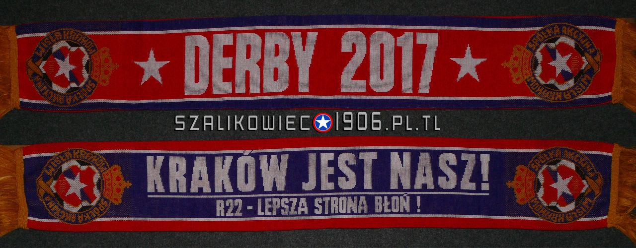 Szalik Derby 2017 Wisła Kraków