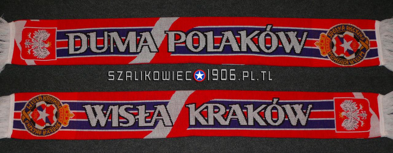 Szalik Wisła Kraków Duma Polaków