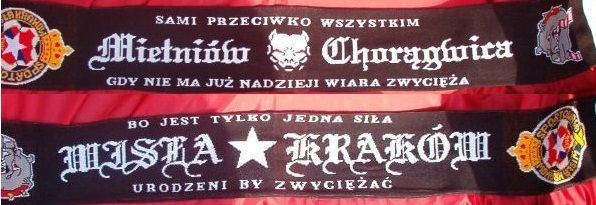 Szalik Mietniów Chorągwica Wisła Kraków