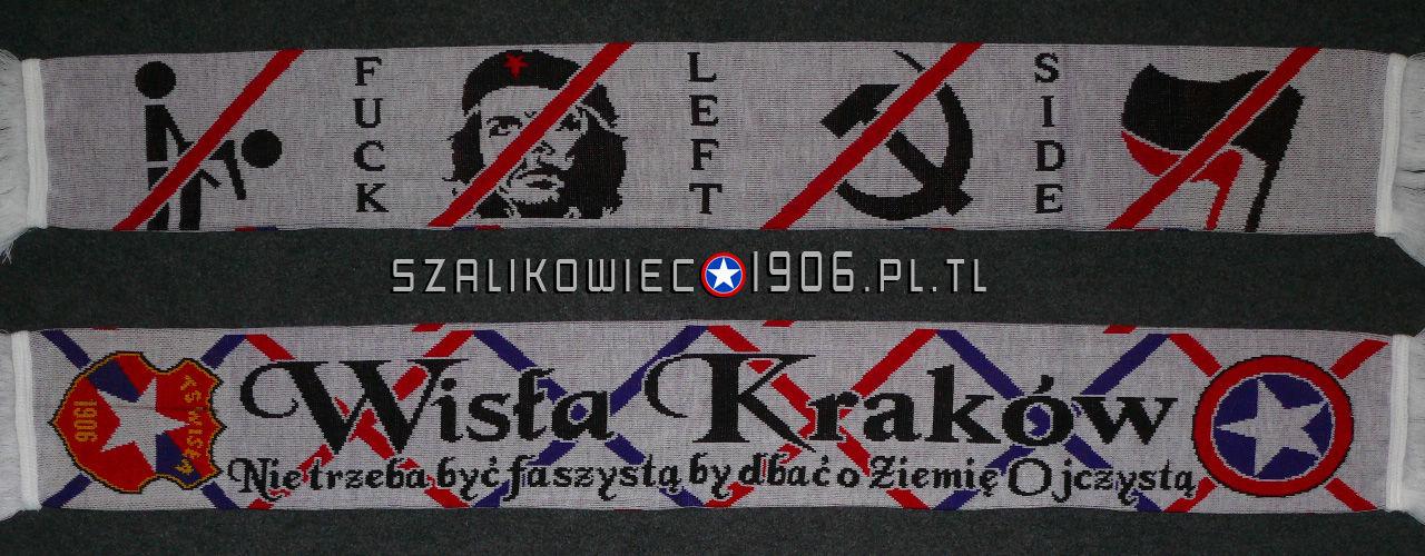 Szalik Fuck Left Side Wisła Kraków