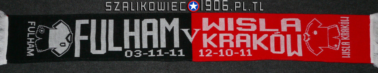Szalik Fulham Londyn Wisła Kraków 2011