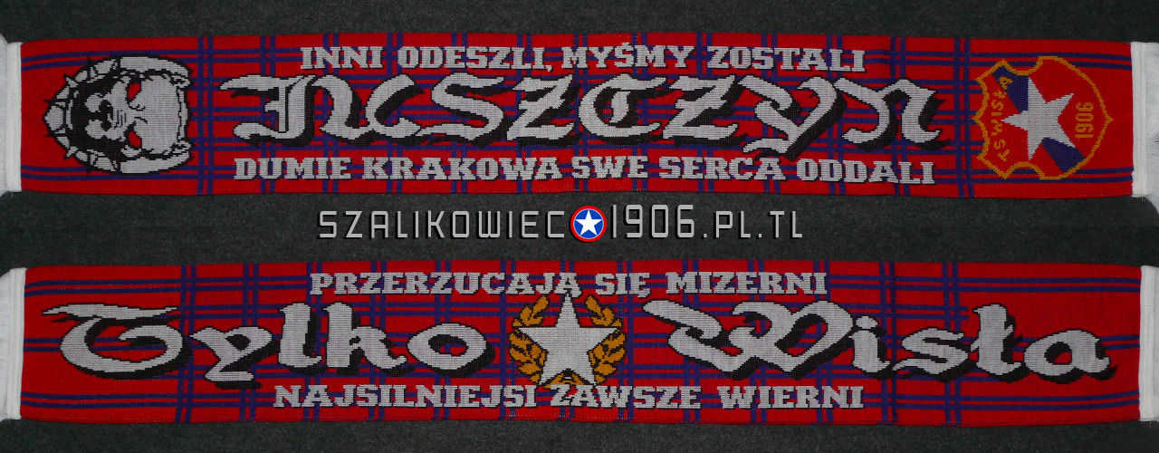 Szalik Wisła Kraków Juszczyn Wzór 1