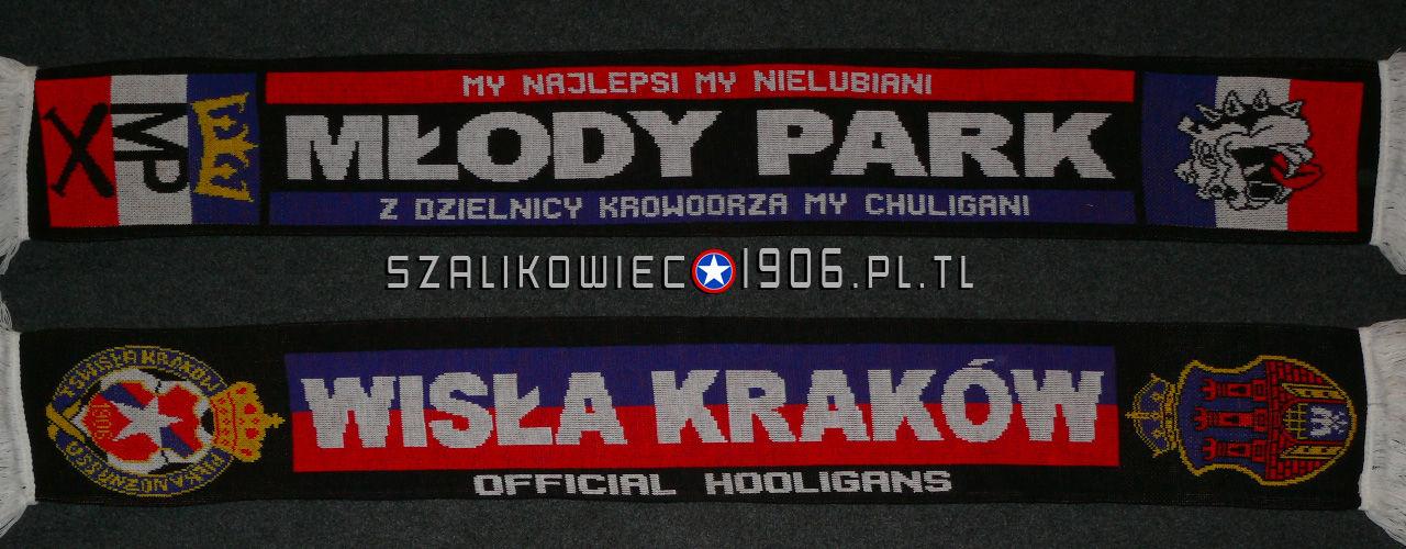 Szalik Wisła Kraków Krowodrza Młody Park