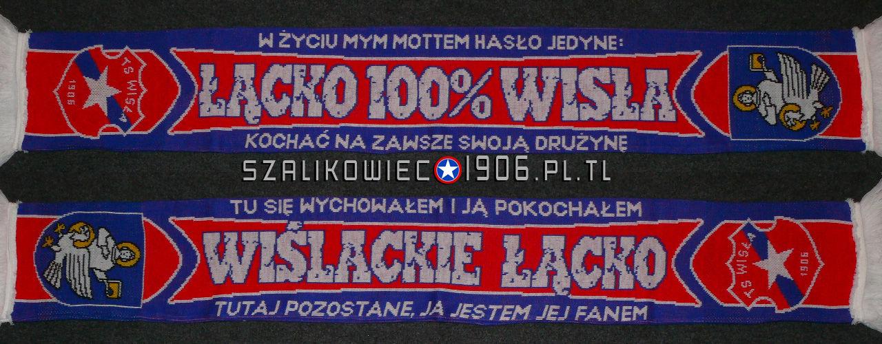 Szalik Wisła Kraków Łącko Wzór 1