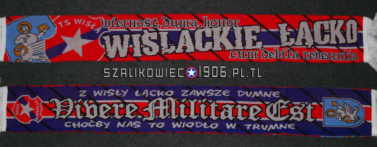 Szalik Wisła Kraków Łącko Wzór 2