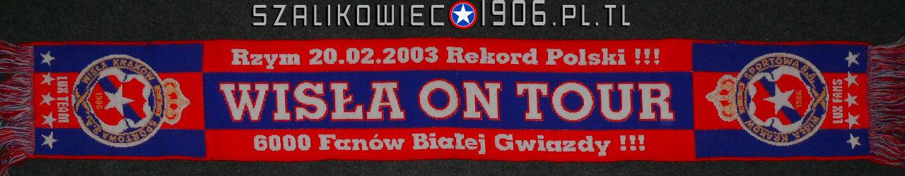Szalik Lazio Rzym Wisła Kraków 2003