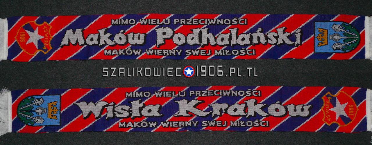 Szalik Wisła Kraków Maków Podhalański