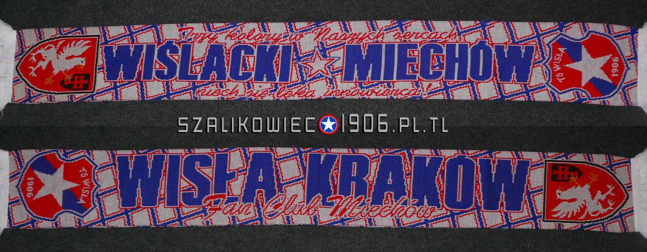 Szalik Wisła Kraków Miechów Wzór 4