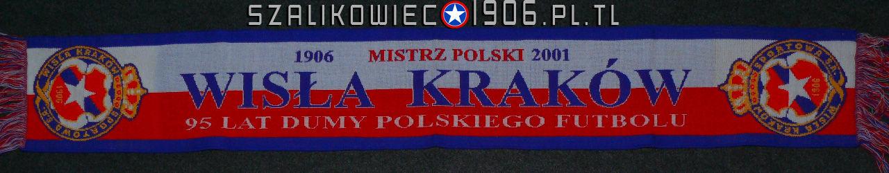 Szalik Mistrz Polski 2001 Wisła Kraków