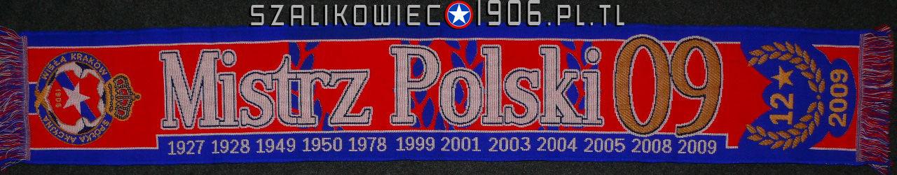 Szalik Mistrz Polski 2009 Wisła Kraków